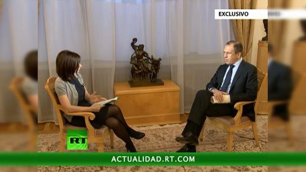 2012-12-23 - Entrevista exclusiva de Serguéi Lavrov