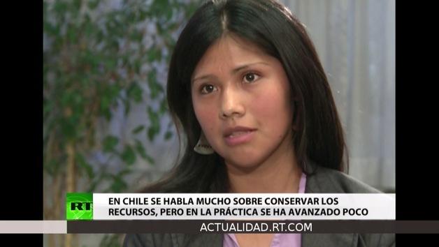 2013-01-14 - Entrevista con Natividad Llanquileo,  representante del pueblo mapuche en Chile