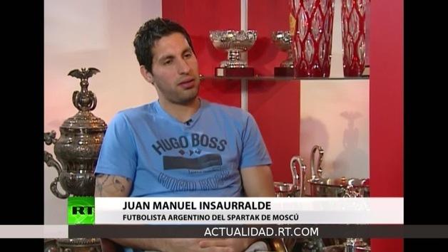 2013-01-21 - Entrevista con Juan Manuel Insaurralde, futbolista argentino del Spartak de Moscú