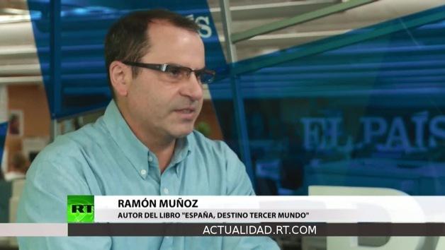 """2013-01-22 - Entrevista con Ramón Muñoz,  autor del libro """"España, Destino Tercer Mundo"""""""