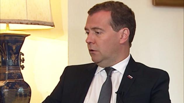 2013-02-23 - Entrevista con el primer ministro ruso, Dmitri Medvédev