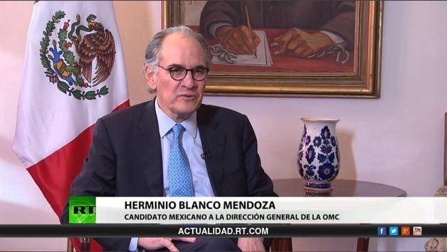 2013-04-04 - Entrevista con Herminio Blanco Mendoza,  candidato mexicano a la dirección general de la OMC