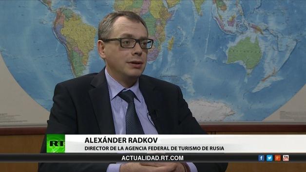 2013-04-06 - Entrevista con Alexánder Radkov, Director de la Agencia Federal de Rusia de turismo