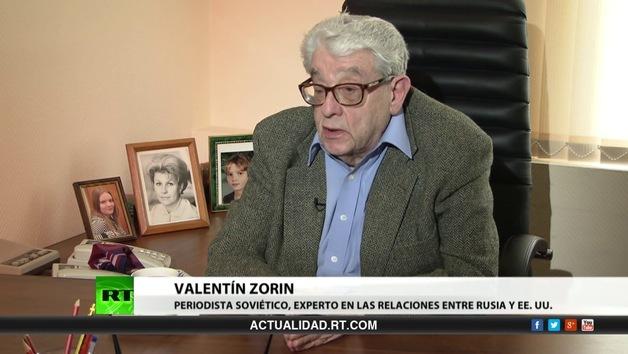 2013-04-25 - Entrevista con Valentín Zorin, periodista soviético, experto en relaciones entre Rusia y EE.UU.