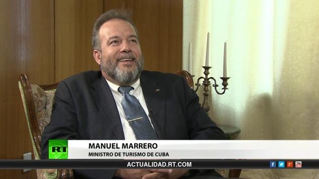 2013-04-27 - Entrevista con Manuel Marrero, ministro de turismo de Cuba