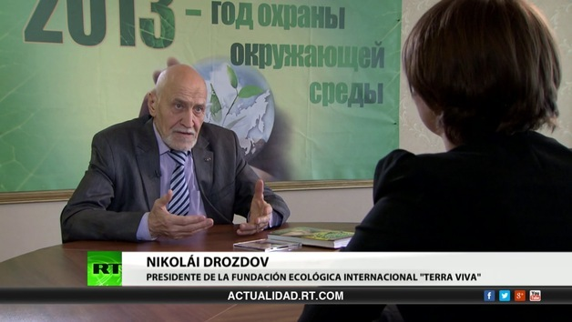 2013-04-30 - Entrevista con Nikolái Drozdov, presidente de la fundación ecológica internacional 'Terra Viva'
