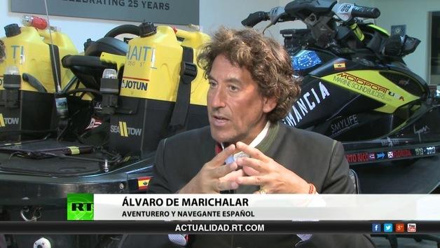 2013-05-06 - Entrevista con Álvaro de Marichalar, aventurero y navegante español