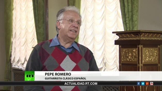 2013-05-07 - Entrevista con Pepe Romero, guitarrista clásico español