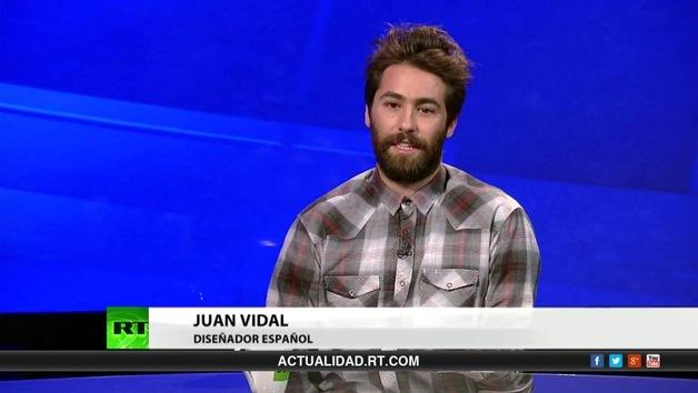 2013-05-18 - Entrevista con Juan Vidal, diseñador español
