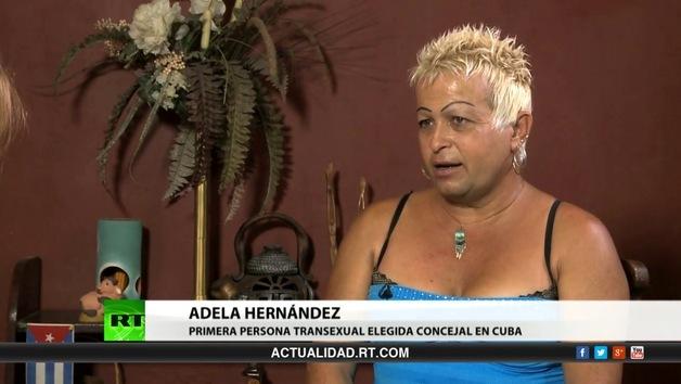 2013-05-20 - Entrevista con Adela Hernández, primera persona transexual elegida concejal en Cuba