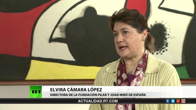 2013-05-25 - Entrevista con la directora de la Fundación Pilar y Joan Miró de España