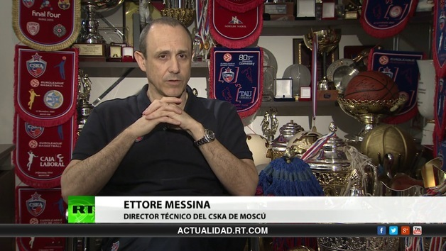 2013-05-27 - Entrevista con Ettore Messina, entrenador del CSKA de Moscú