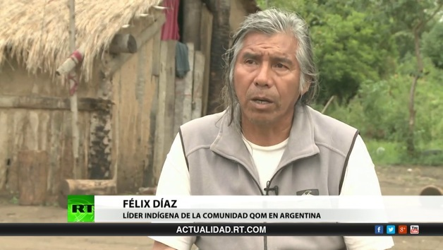 2013-05-28 - Entrevista con Félix Díaz, líder indígena Qom en Argentina