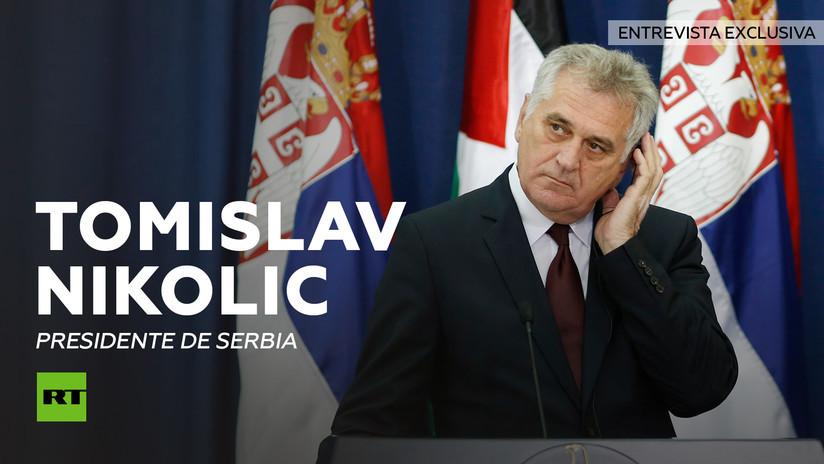2013-05-30 - Entrevista con Tomislav Nikolic, presidente de Serbia