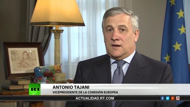 2013-06-20 - Entrevista con Antonio Tajani, vicepresidente de la Comisión Europea