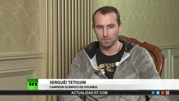 2013-06-24 - Entrevista con Serguéi Tetiujin, campeón olímpico de voleibol