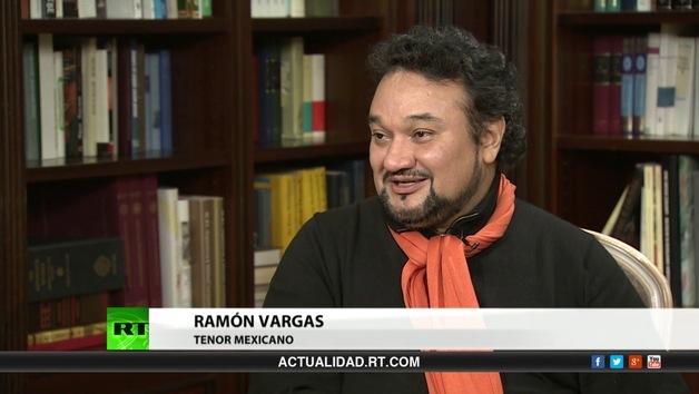 2013-06-25 - Entrevista con Ramón Vargas, tenor mexicano
