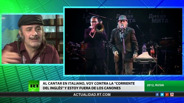 2013-07-13 - Entrevista con Tonino Carotone, cantautor español