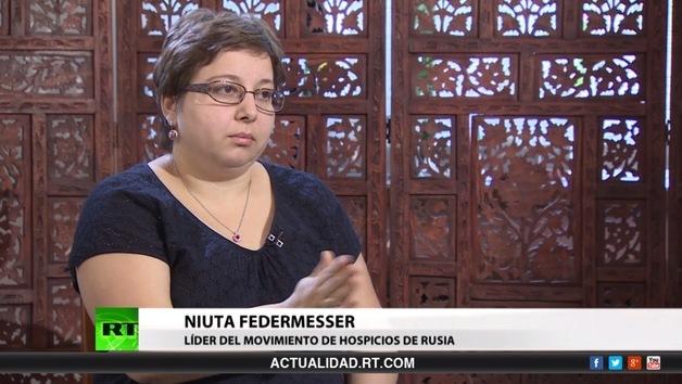 2013-08-03 - Entrevista con Niuta Federmesser, líder del movimiento de hospicios de Rusia