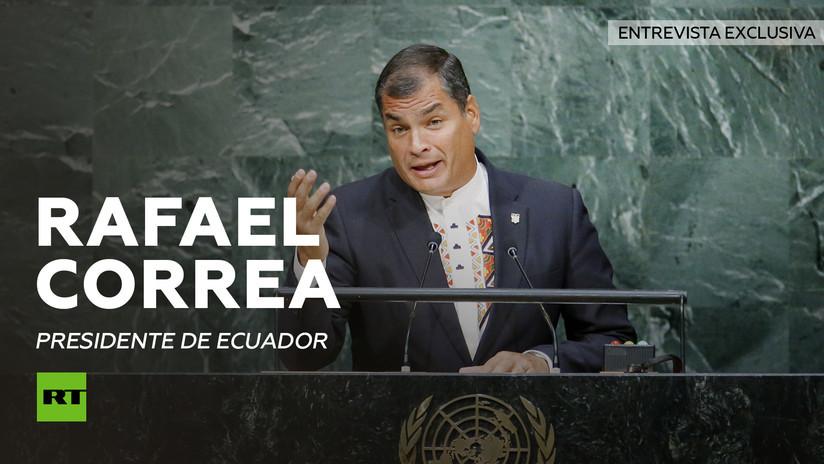 2013-08-21 - Entrevista con Rafael Correa, presidente de Ecuador