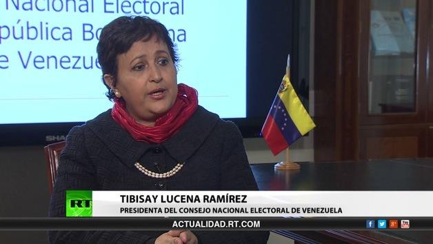 2013-09-30 - Entrevista con Tibisay Lucena Ramírez, presidenta del Consejo Nacional Electoral de Venezuela