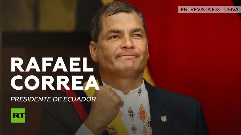 2013-10-04 - Entrevista con Rafael Correa, presidente de Ecuador