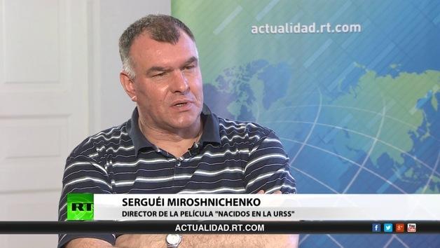 """2013-10-05 - Entrevista con Serguéi Miroshnichenko, director de la película """"Nacidos en la URSS"""""""