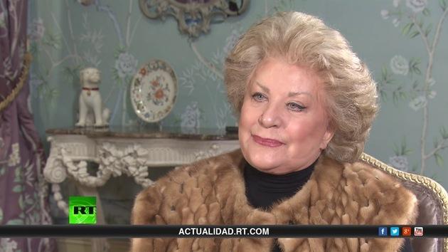 2013-10-12 - Entrevista con Elena Obraztsova Cantante de ópera rusa