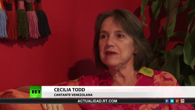 2013-11-09 - Entrevista con Cecilia Todd, cantante venezolana