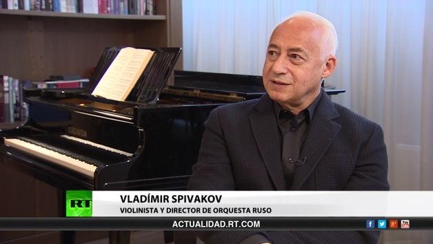 2013-11-21 - Entrevista con Vladímir Spivakov, violinista y director de orquesta ruso