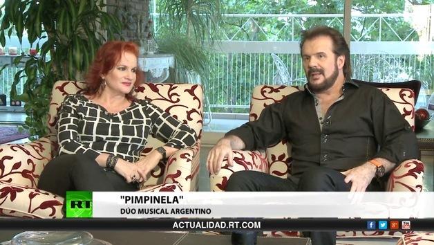 "2013-12-05 - Entrevista con ""Pimpinela"", dúo musical de Argentina"