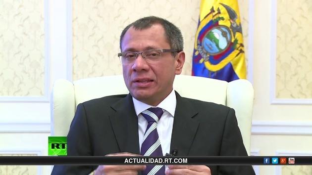 2013-12-18 - Entrevista con Jorge Glas, vicepresidente de Ecuador