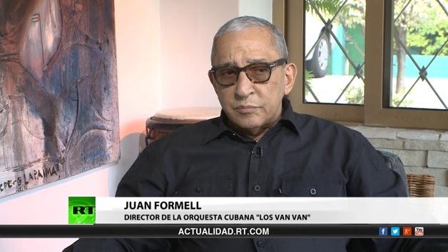 2013-12-26 - Entrevista con Juan Formell, director de la orquesta cubana