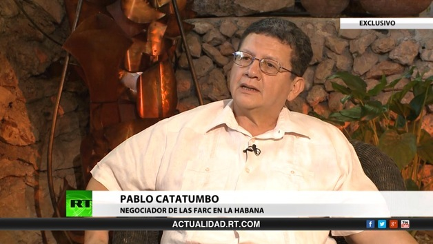 2014-01-27 - Entrevista con Pablo Catatumbo, negociador de las FARC en la Habana