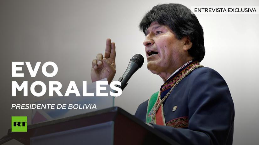 2014-01-28 - Entrevista con Evo Morales, presidente de Bolivia