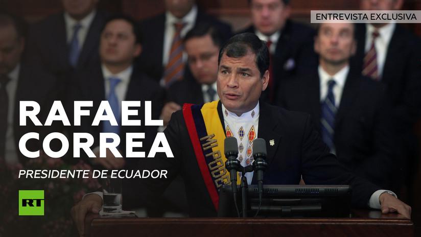 2014-01-30 - Entrevista con Rafael Correa, presidente de Ecuador