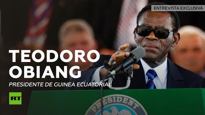 2014-02-12 - Entrevista con Teodoro Obiang Nguema, presidente de Guinea Ecuatorial