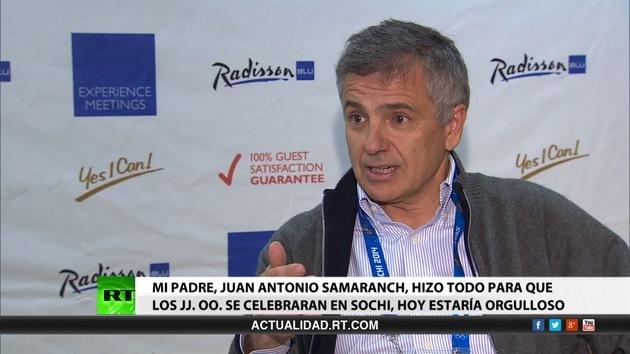 2014-02-22 - Entrevista con Juan Antonio Samaranch Salisachs, miembro del Comité Olímpico Internacional
