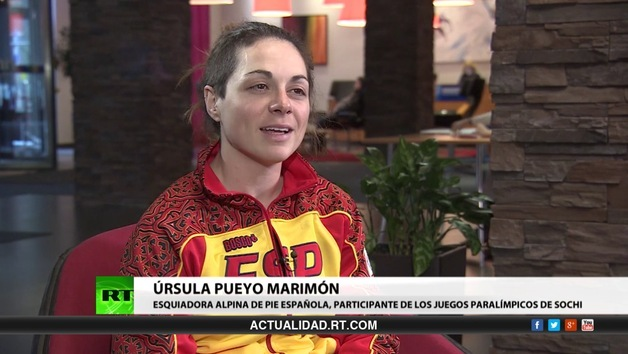 2014-03-13 - Entrevista con Úrsula Pueyo Marimón, esquiadora alpina de pie española, participante de los Juegos Paralímpicos de Sochi