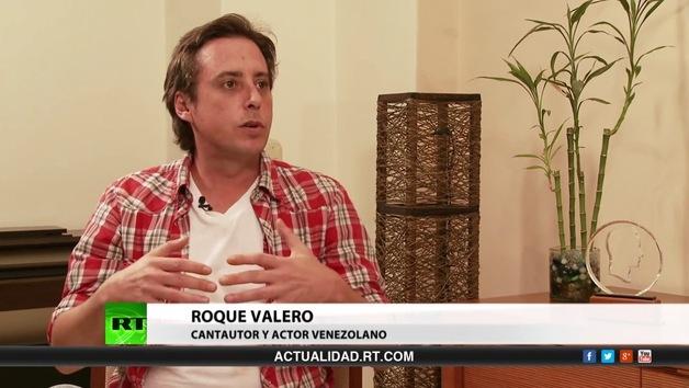 2014-04-03 - Entrevista con Roque Valero, cantautor y actor venezolano