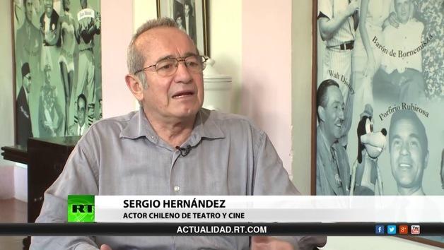 2014-04-26 - Entrevista con Sergio Hernández, actor chileno de teatro y cine
