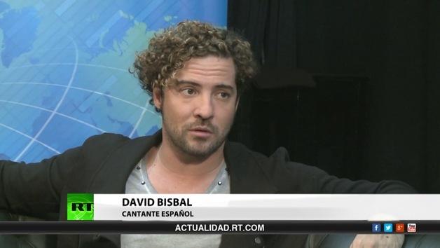 2014-04-28 - Entrevista con David Bisbal, cantante español