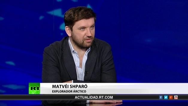 2014-05-12 - Entrevista con Matvéi Shparó, explorador ártico
