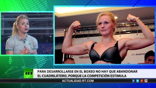 2014-05-27 - Entrevista con Svetlana Kulakova, boxeadora rusa, aspirante al título de campeona mundial en la versión WBA