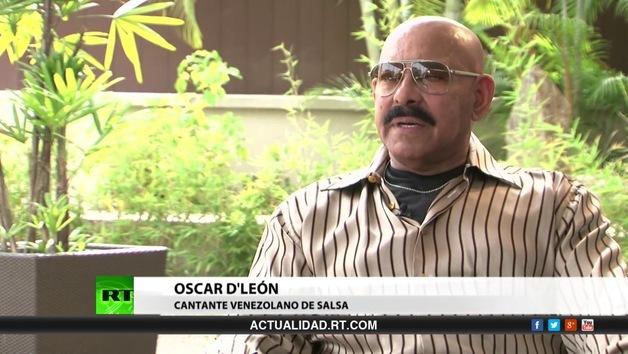 2014-06-05 - Entrevista con Oscar D'León, cantante venezolano de salsa