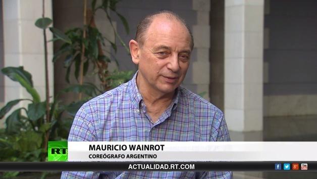 2014-06-07 - Entrevista con Mauricio Wainrot, coreógrafo argentino