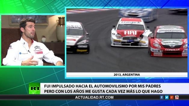 2014-06-16 - Entrevista con José María López, piloto argentino de automovilismo