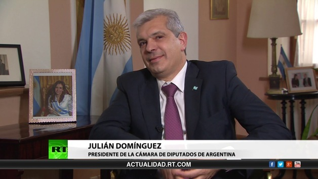 2014-06-30 - Entrevista con Julián Domínguez, presidente de la cámara de diputados de Argentina