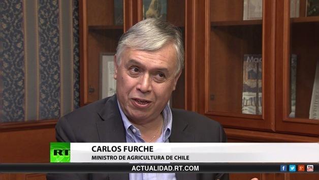 2014-07-05 - Entrevista con Carlos Furche, ministro de Agricultura de Chile