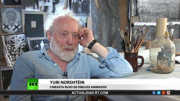 2014-07-12 - Entrevista con Yuri Norshtéin, cineasta ruso de dibujos animados